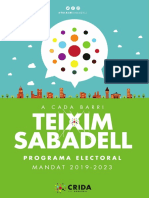 Crida Per Sabadell - Programa 2019-2023