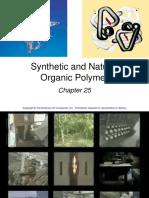 Ch25 organic polymers