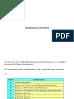 F Combining Transformations