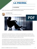 Tiempos de Química y Esclavitud - LaPrensa.com.ar