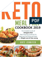 Keto Meal Prep Cookbook 2019