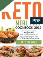 Keto Meal Prep Cookbook 2019