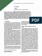 Proton transport model review