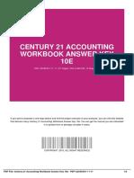 century 21 accounting workbook answer key 10e