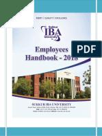 Employee Handbook 2018