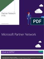 Guía Microsoft Partner Network FY19 chus