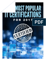 The 7 Most Popular IT Certifications for 2017