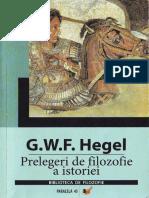 G. W. F. Hegel - Prelegeri de filosofie a istoriei 2006.pdf