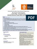 Business Study Skills and Method (1)