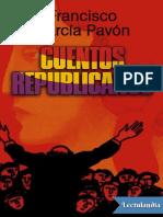 GARCIA PAVON, Fco- Librito Cuentos Republicanos