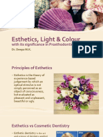 Esthetics, Light and Colour in Dentistry