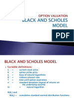 Mba Ppt Sapm Option Black and Scholes