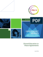 Shared Education in Peace Agreements