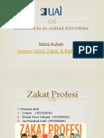 Presentasi Zakat Profesi