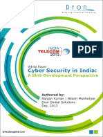 White Paper_India Telecom 2013_Cyber Security- A Skill Development Perspective (2)