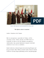 The Qatar crisis is transient.docx