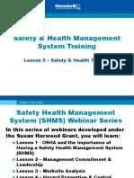 5-Safety Health Training