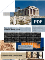 La Acrópolis de Grecia _ Julia Isabel Aguilar Aguirre