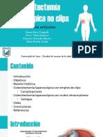 Colecistectomía Laparoscópica