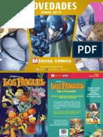 Boletín Medusa Comics Universo Valiant Junio 2019