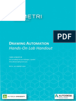 Drawing Automation Hand Out