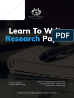 Learn to Write Research Papers Hassaan Tohid