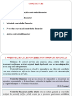 Tema 11 - Controlul Financiar