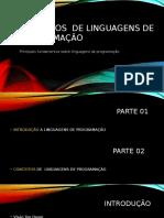 Fundamentos de Linguagens de Programação