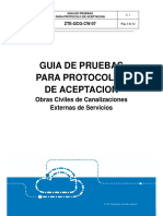Guia y Protocolo Aceptacion de Obras Civiles Canalizaciones V1