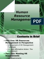 01HRM- Implementation HRM