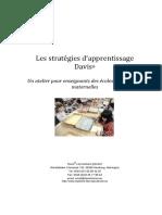 stratégie d'apprentissage davis
