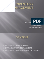 Inventory Management Mayank
