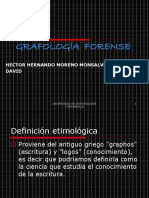 24502611 Grafologia Forense Presentacion