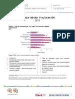 Fuerza Laboral y Educación 2017
