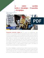 Diferencias Entre Acción Reivindicatoria y Desalojo - Casación 2160-2004, Arequipa