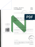 NTC-3829 Adoquín de arcilla para tránsito peatonal y vehicular liviano