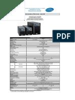 Catalogo - Linha Mx - 2 e 3 Kva