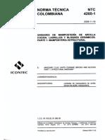 NTC-4205-1 Mamposteria estructural.pdf