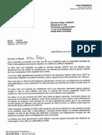 Le courrier de Gaël Perdriau