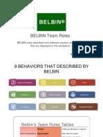 Pio Yp59b Group 9 Meeting 4 - Belbin