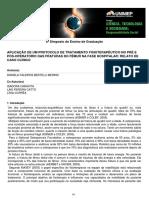APLICAÇÃO DE UM PROTOCOLO DE TRATAMENTO FISIOTERAPÊUTICO NO PRÉ EPÓS-OPERATÓRIO DAS FRATURAS DO FÊMUR NA FASE HOSPITALAR - RELATO DECASO CLÍNICO.pdf