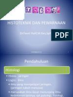 1.Histoteknik Dan Pewarnaan