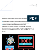 Blockchain Tutorial _ How to Become a Blockchain Developer_ Cram Session! - Blockgeeks