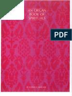 Book of Spirituals for Organ