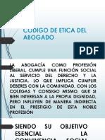 CLASE 6.- CODIGO DE ETICA DEL ABOGADO-LIMA.pptx