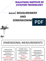 02. Basic Measurement Dimensioning