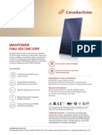 Canadian Solar-Datasheet-MaxPower CS6U-P v5.552 En