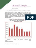Estadísticas de Inversión Extranjera.docx