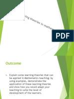 learningtheoriesinmathematics-140422044132-phpapp02