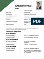 Curriculum Carlos